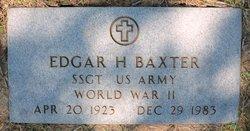 Edger H Baxter