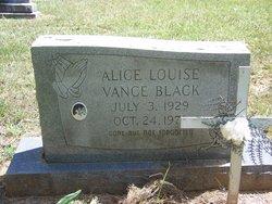 Alice Louise <i>Vance</i> Black