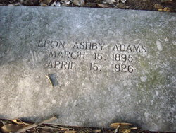 Leon Ashby Adams