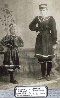 Georgia Wilhelmina <i>McLeod</i> Ahlstrom