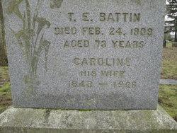 Caroline B <i>Barchus</i> Battin