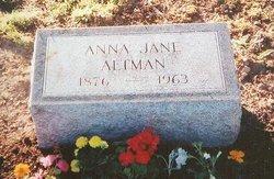 Anna Jane <i>Hays</i> Altman