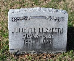 Juliette Elizabeth <i>Chaffe</i> Adams
