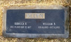 Rebecca May <i>Roundy</i> Allen