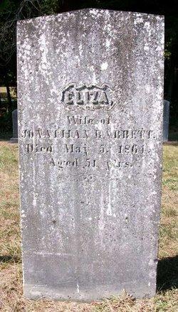Elizabeth Eliza <i>Towne</i> Babbett