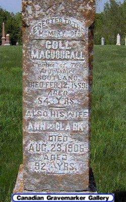 Ann <i>Clark</i> MacDougall