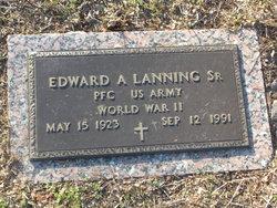 PFC Edward Albert Lanning, Sr