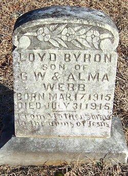 Loyd Byron Webb