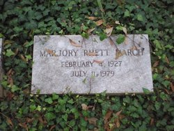 Marjory Mildred <i>Rhett</i> March