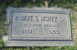 Robert S Disney, Sr