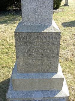 Elizabeth Eliza <i>Pumphrey</i> Myers