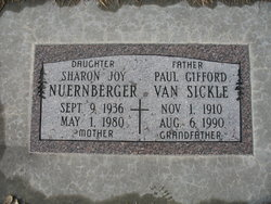 Paul Gifford Van Sickle