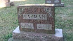 Roxie B. <i>Lawson</i> Layman