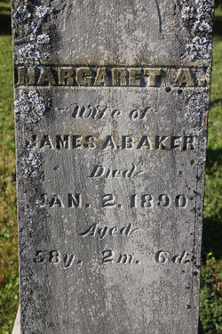 Margaret A. Baker