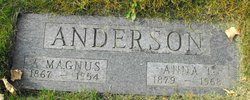 Anna Teresia <i>Soderholm</i> Anderson