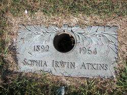 Sophia Elizabeth Sofa <i>Irwin</i> Atkins