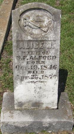 Alice H Alford