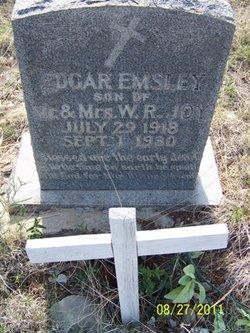 Edgar Emsley Joy