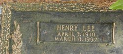 Henry Lee Alderman