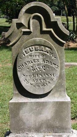 Susannah Susan <i>Burritt</i> Adams