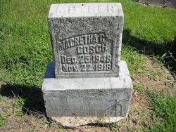 Margaretha Christine <i>Haverbire</i> Gosch
