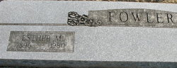 Esther May <i>Thornton</i> Fowler