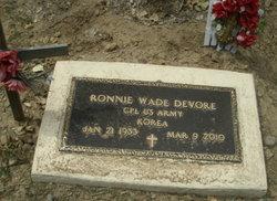 Ronnie Wade DeVore