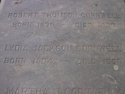 Lydia Ann <i>Jackson</i> Cornwell