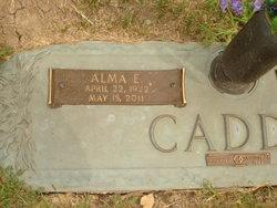 Alma Elberta <i>Thomson</i> Caddy