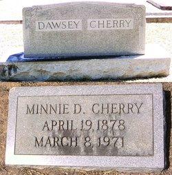 Minnie Octavia <i>Dawsey</i> Cherry