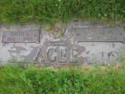 Grace M. <i>Giles</i> Agee