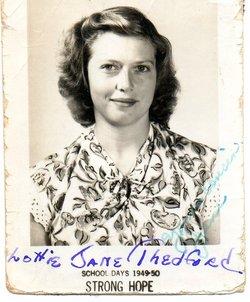 Lottie Jane Carpenter <i>Thedford</i> Neal