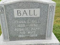 Laura A <i>Barnum</i> Ball