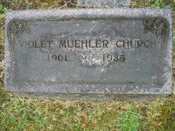 Violet N <i>Muehler</i> Church