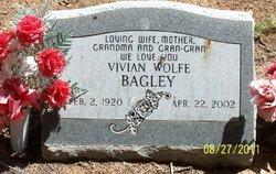 Vivian <i>Wolfe</i> Bagley