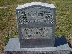 Mary Francis Alderman