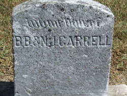 Infant Daughter Carrell