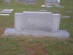 Mary Julia <i>Peel</i> Acker