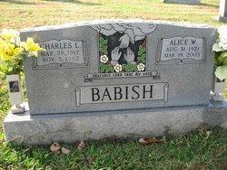 Alice W Babish