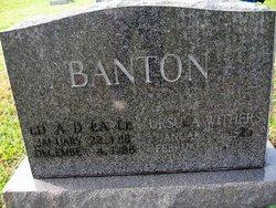 Edward Earle Banton
