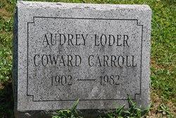 Audrey <i>Loder</i> Carroll