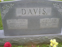 Rev John Melton Davis