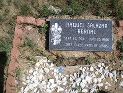 Raquel <i>Salazar</i> Bernal