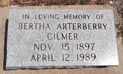 Bertha <i>Arterberry</i> Gilmer