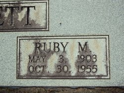 Ruby <i>McClendon</i> Bennett