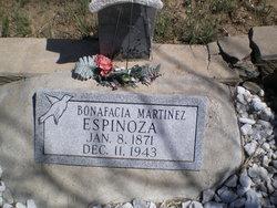Bonafacia <i>Martinez</i> Espinoza