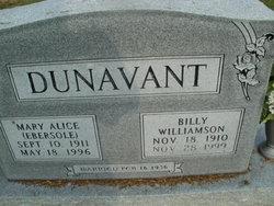 Mary Alice <i>Ebersole</i> Dunavant