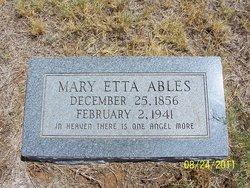 Mary Etta Ables