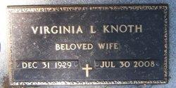 Virginia Lee <i>Daugherty</i> Knoth