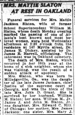 Martha Grant <i>Jackson</i> Slaton